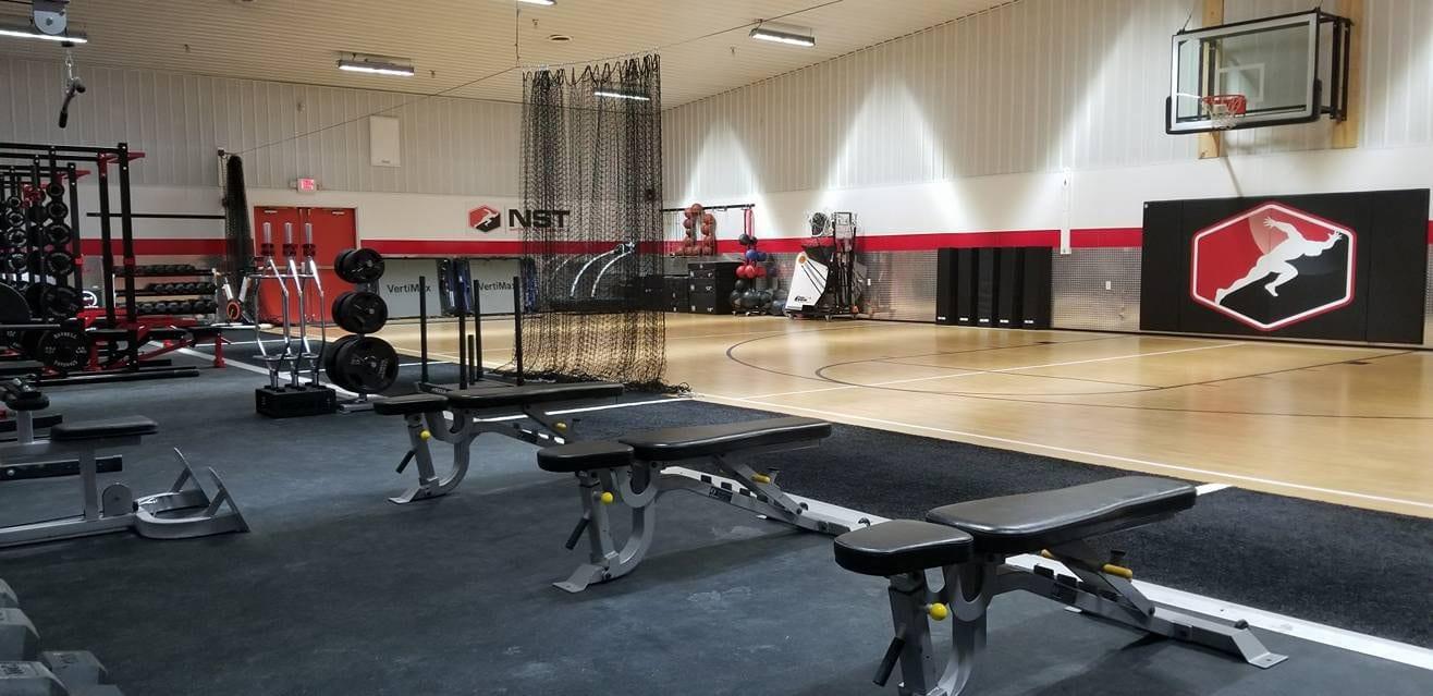 Exercising area
